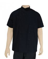Snappy Short Sleeve Chef Jacket Snappy Short Sleeve Chef Jacket Black